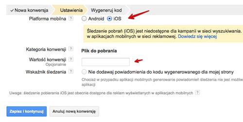 sledzenie aplikacji ios Śledzenie pobrań aplikacji w kampaniach AdWords