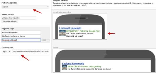 szablon aplikacji a Jak promować aplikacje w rozszerzonych kampaniach AdWords?