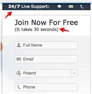 Optymalizacja formularzy internetowych - pomoc