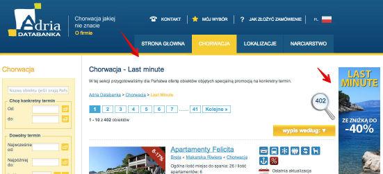 Motywacja użytkownika w procesie konwersji - informacje na stronie docelowej