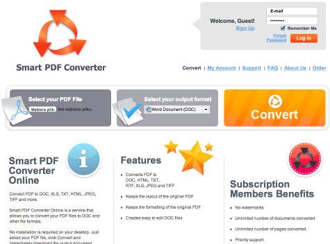 USP w procesie konwersji - Smart PDF