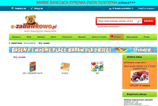 Wyszukiwarka wewnętrzna na witrynie
