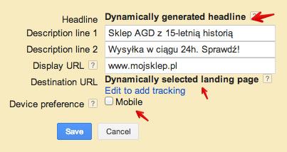 dsa reklama Reklamy dynamiczne w wyszukiwarce (DSA)   jak je efektywnie wykorzystywać?