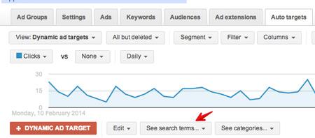 dsa wyszukiwania Optymalizacja reklam dynamicznych DSA