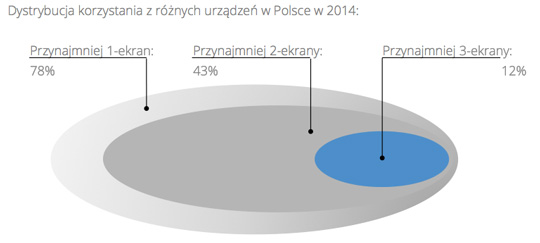 Badanie multiscreen w Polsce w 2014