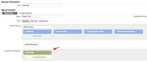 dane wymiary ga Realna segmentacja z wykorzystaniem Google Analytics   wykorzystanie danych niestandardowych