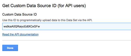 Import danych za pomocą API