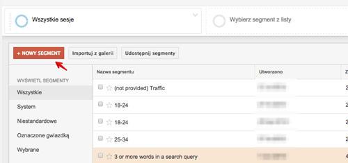segmentacja google analytics Realna segmentacja użytkowników z wykorzystaniem Google Analytics