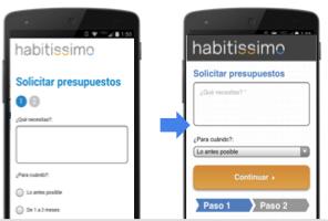 case habitissimo Jak uzyskiwać lepsze efekty na mobile? Optymalizacja działań reklamowych.