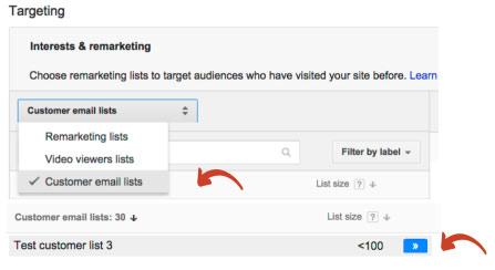 Dopasowanie do klienta - kierowanie na listy w wyszukiwarce