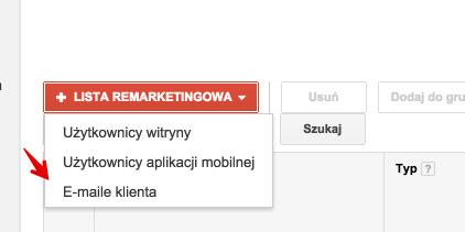 lista remarketingowa email Dopasowanie reklam do klienta, czyli jak dotrzeć do najcenniejszych klientów w Google