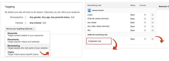 reklamy na youtube remarketing 2 Dopasowanie reklam do klienta, czyli jak dotrzeć do najcenniejszych klientów w Google