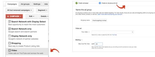 reklamy remarketingowe youtube1 Dopasowanie reklam do klienta, czyli jak dotrzeć do najcenniejszych klientów w Google